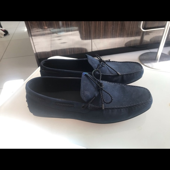 Tod's Other - Tod's navy blue driving shoes never worn